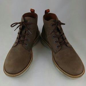ECCO Men's Aurora Mid Chukka Boot, Cocoa Brown 6.5